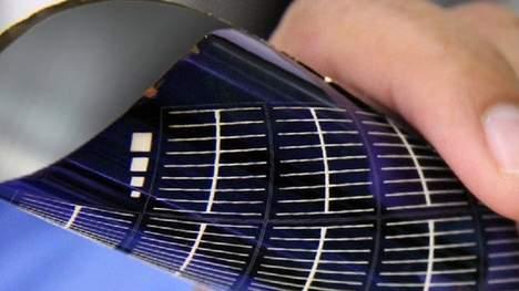 Flexibel zonnepaneel